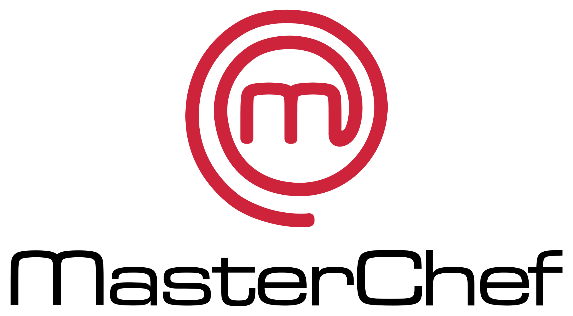 svg transparent Masterchef logo using wordmark. Chef clipart top chef.