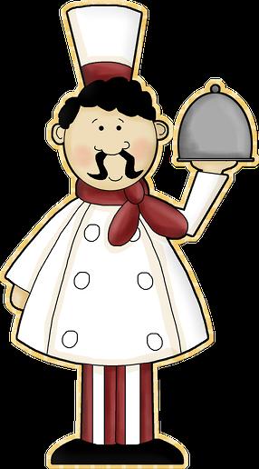 vector free library Chefs clipart. Cozinheiros a cocineroros ycocina