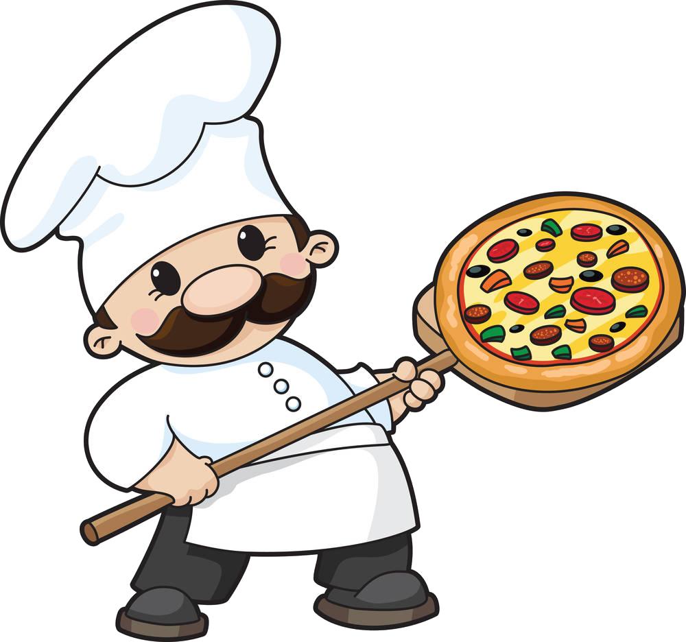 jpg royalty free stock Pizza cuisine clip art. Chefs clipart chef italian.