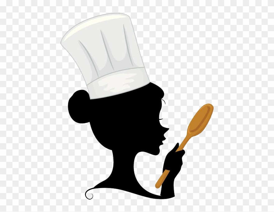 vector free stock Chefs clipart hand. Banner stock female chef