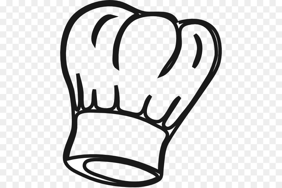 clip art black and white library Chefs clipart hand. Chef hat transparent clip