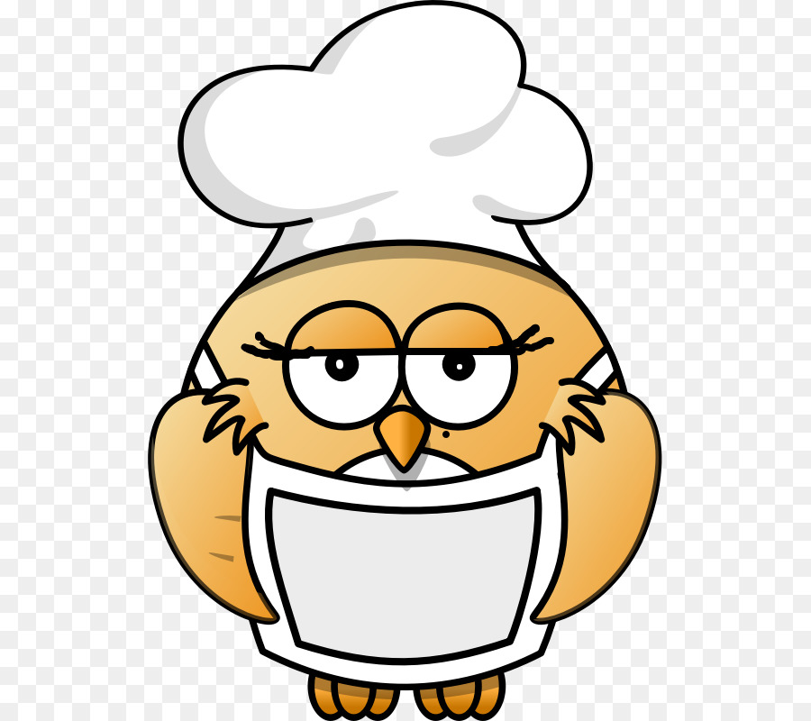 vector free Chefs clipart owl. Chef cartoon cooking transparent.