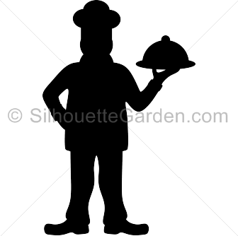 vector royalty free library Chef clip art download. Chefs clipart silhouette.