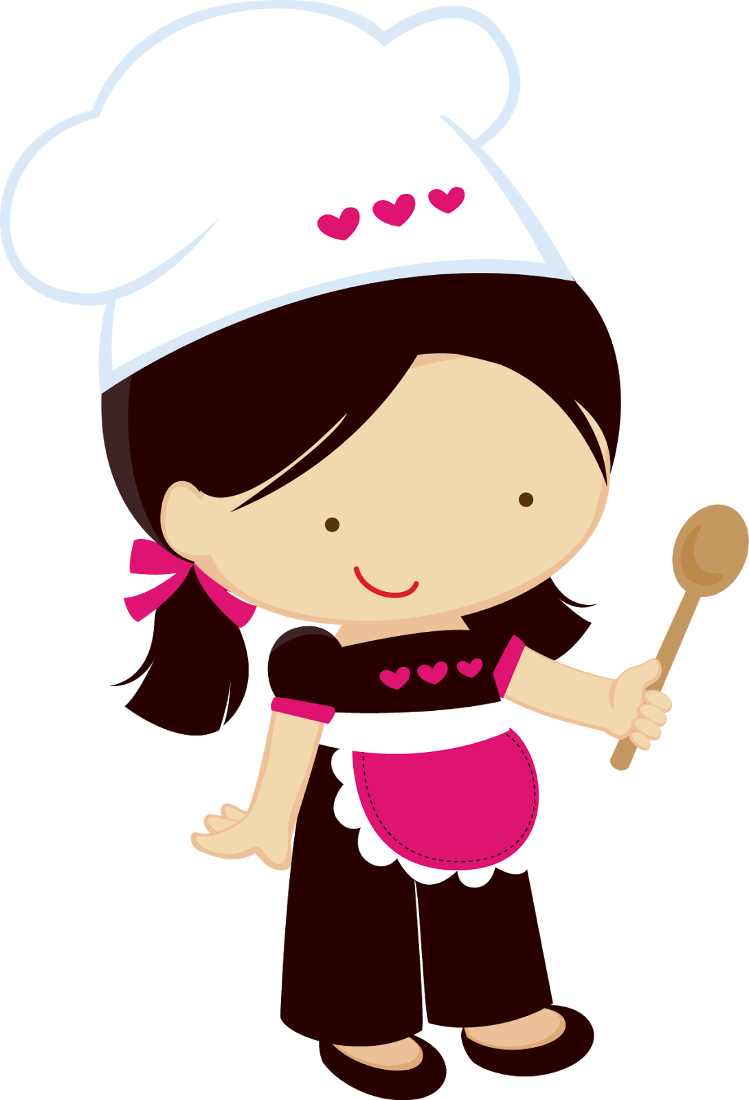 clip library stock Chefs clipart. Peque as cocineras pinterest.