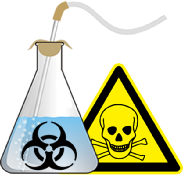 banner black and white library Safety . Chemical clipart.