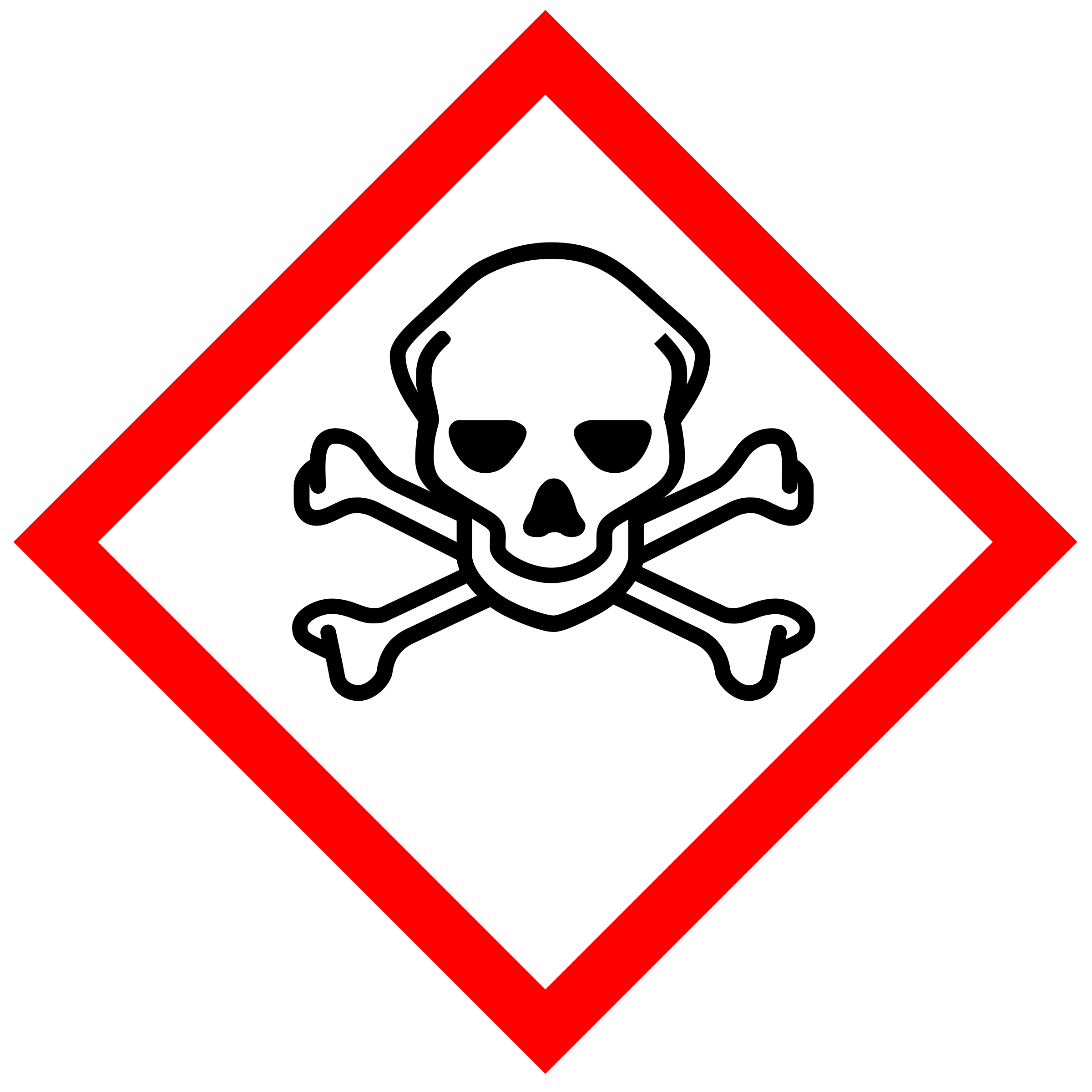 jpg black and white library Ghs pictogram for toxic. Chemical clipart chemical contamination.