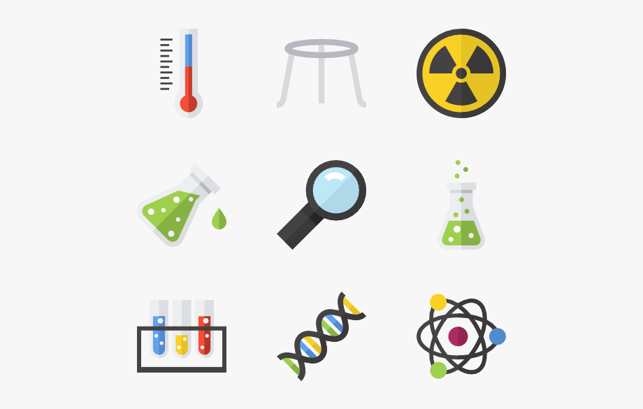 clip royalty free library Laboratory flat . Chemical clipart chemical contamination.