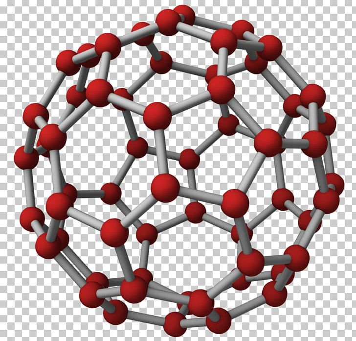 clipart royalty free library Buckminsterfullerene molecule carbon png. Chemical clipart nanotechnology.