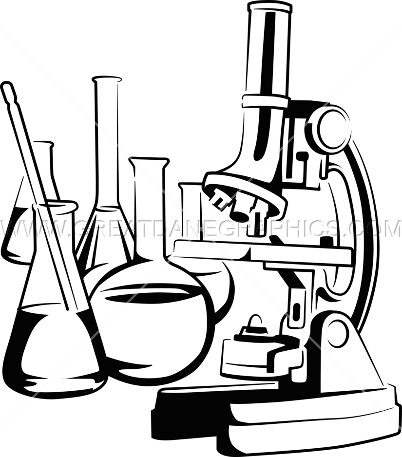picture Chemical clipart nanotechnology. Microscope drawing free on.