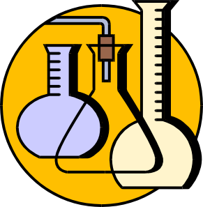 png free Chemical flasks clip art. Lab clipart