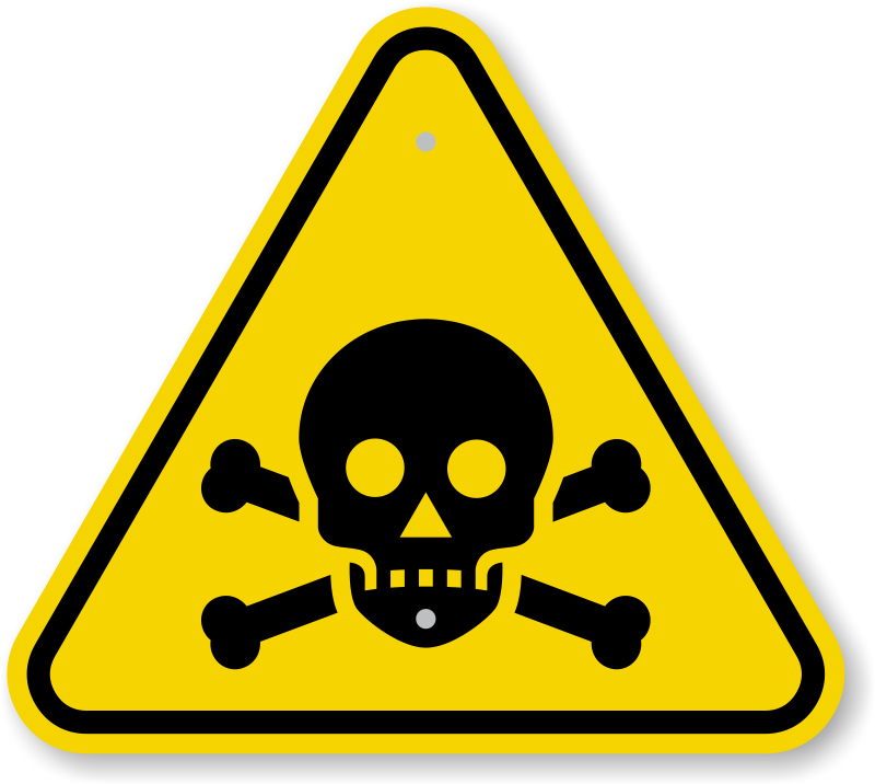 svg download Poison Warning Signs