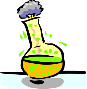 image black and white library Chemistry clipart. Cartoon