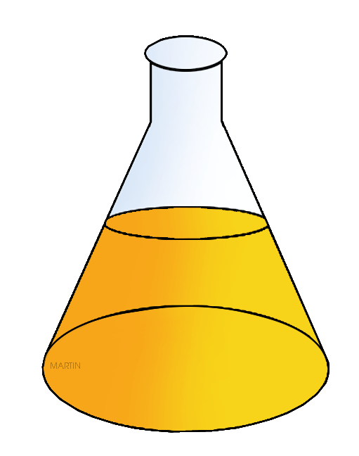 picture Free chemistry clipart at. Beaker transparent erlenmeyer