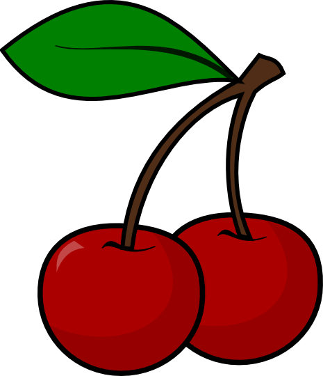 vector free library Cherries clipart. Cherry clip art free