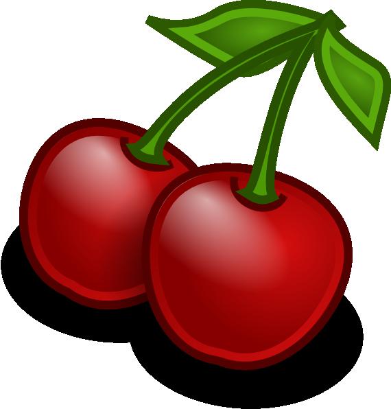 vector transparent Cherries clipart. Rocket fruit clip art.
