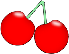vector royalty free download Cherries clipart. Cherry clip art images.