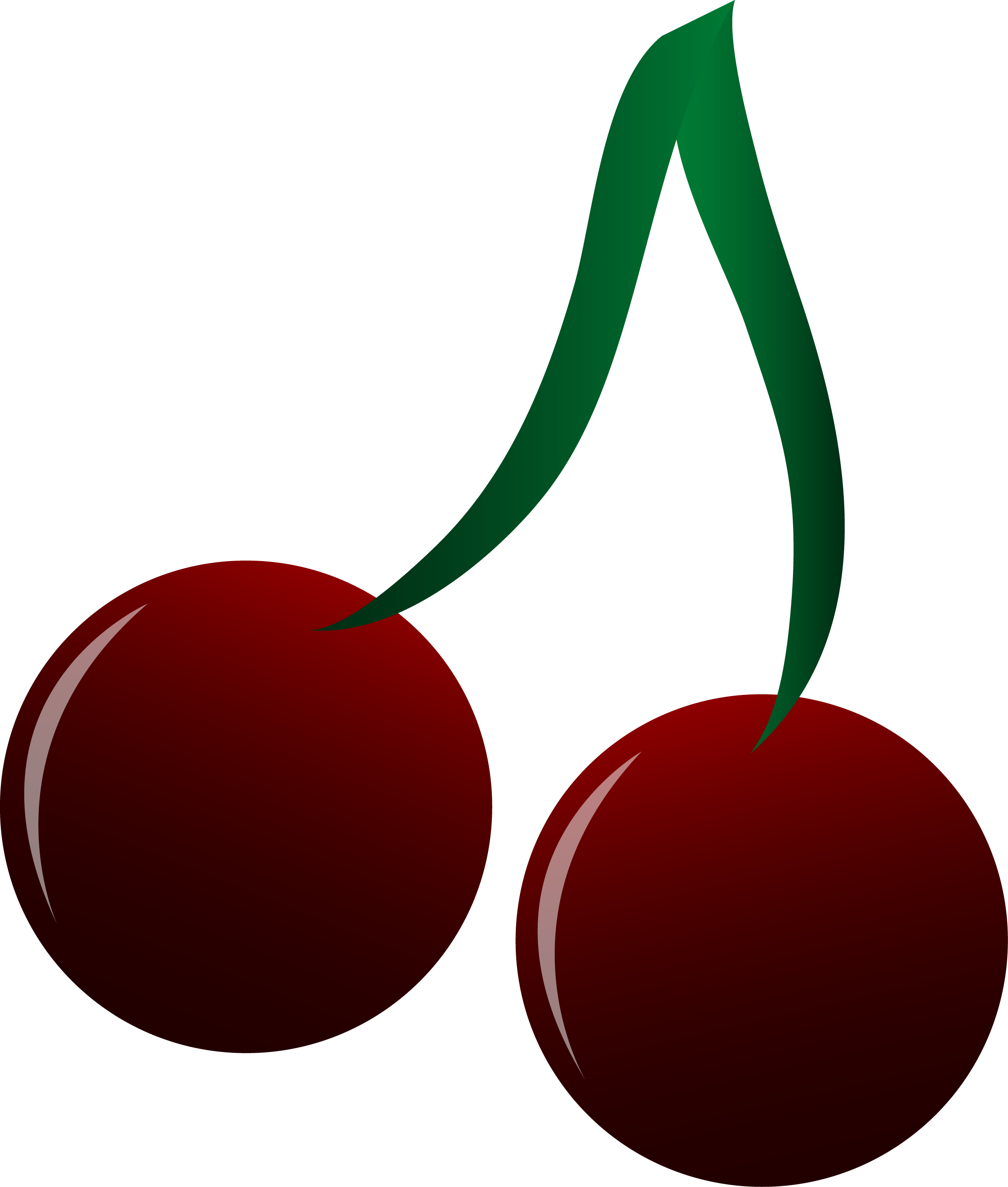 vector library download Black . Cherry clipart sweet fruit.