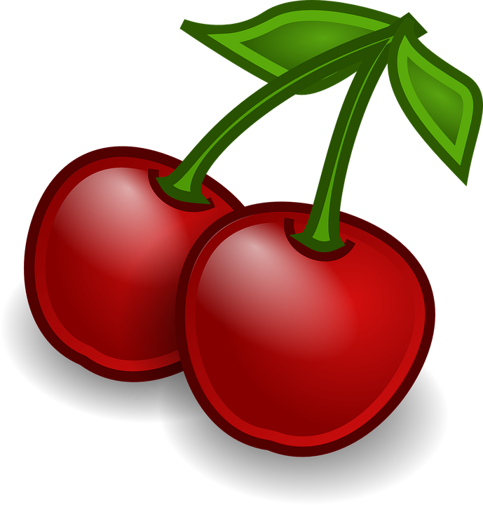 graphic free Cherry clipart sweet fruit. Transparent background free on.