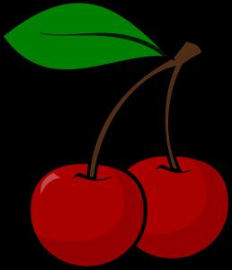 vector stock Cherry panda free images. Cherries clipart pacman.