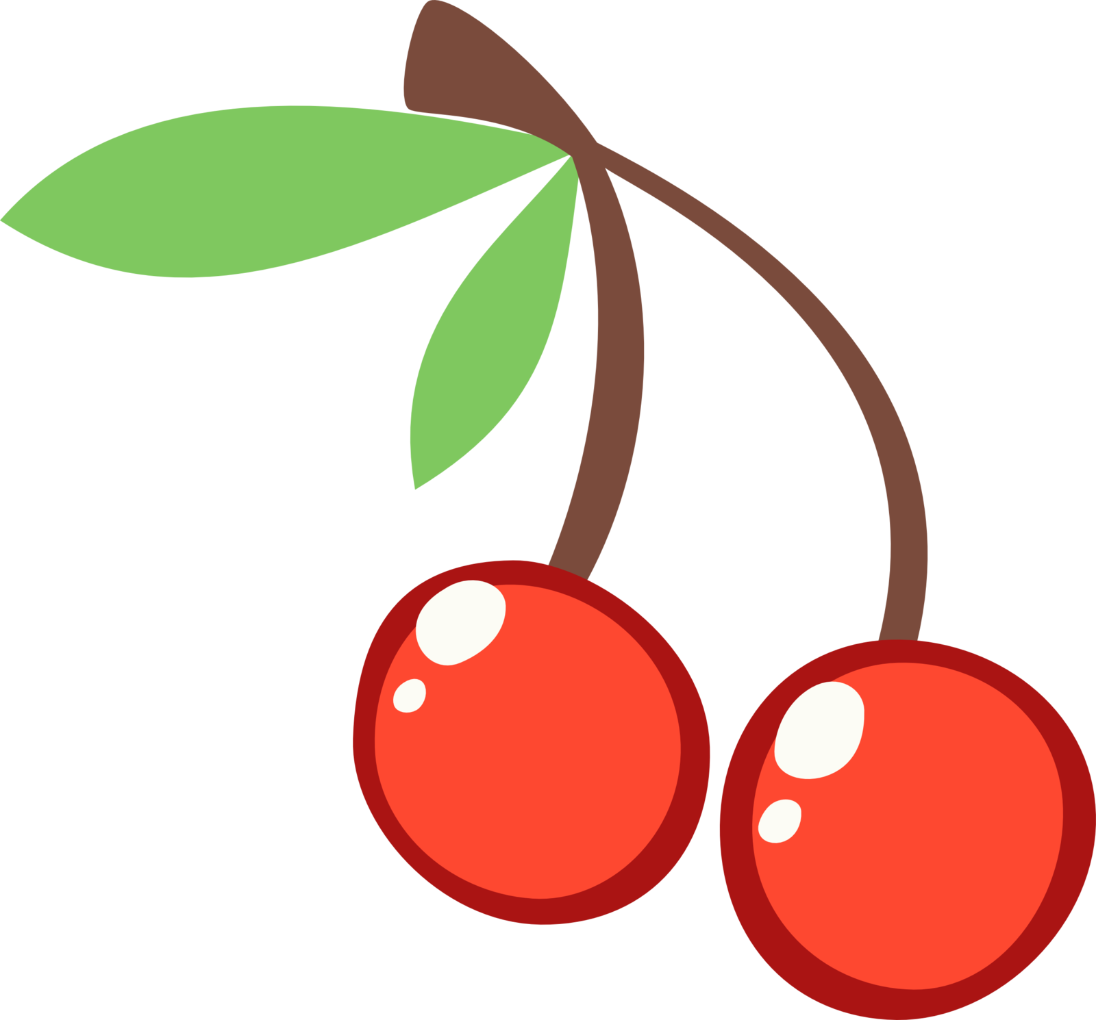 clip royalty free library Cherries cutie mark by. Berry drawing cherry