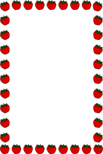black and white Strawberry clip art at. Cherry clipart border.