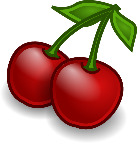 banner royalty free library Cherries Clip Art