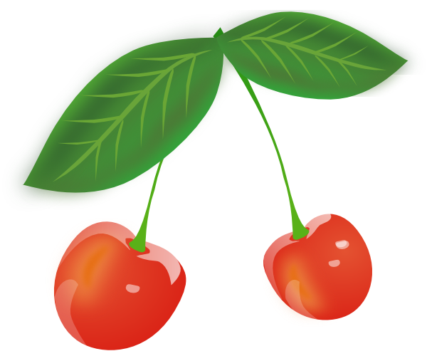 picture free Cherry clipart small food. Clip art at clker.