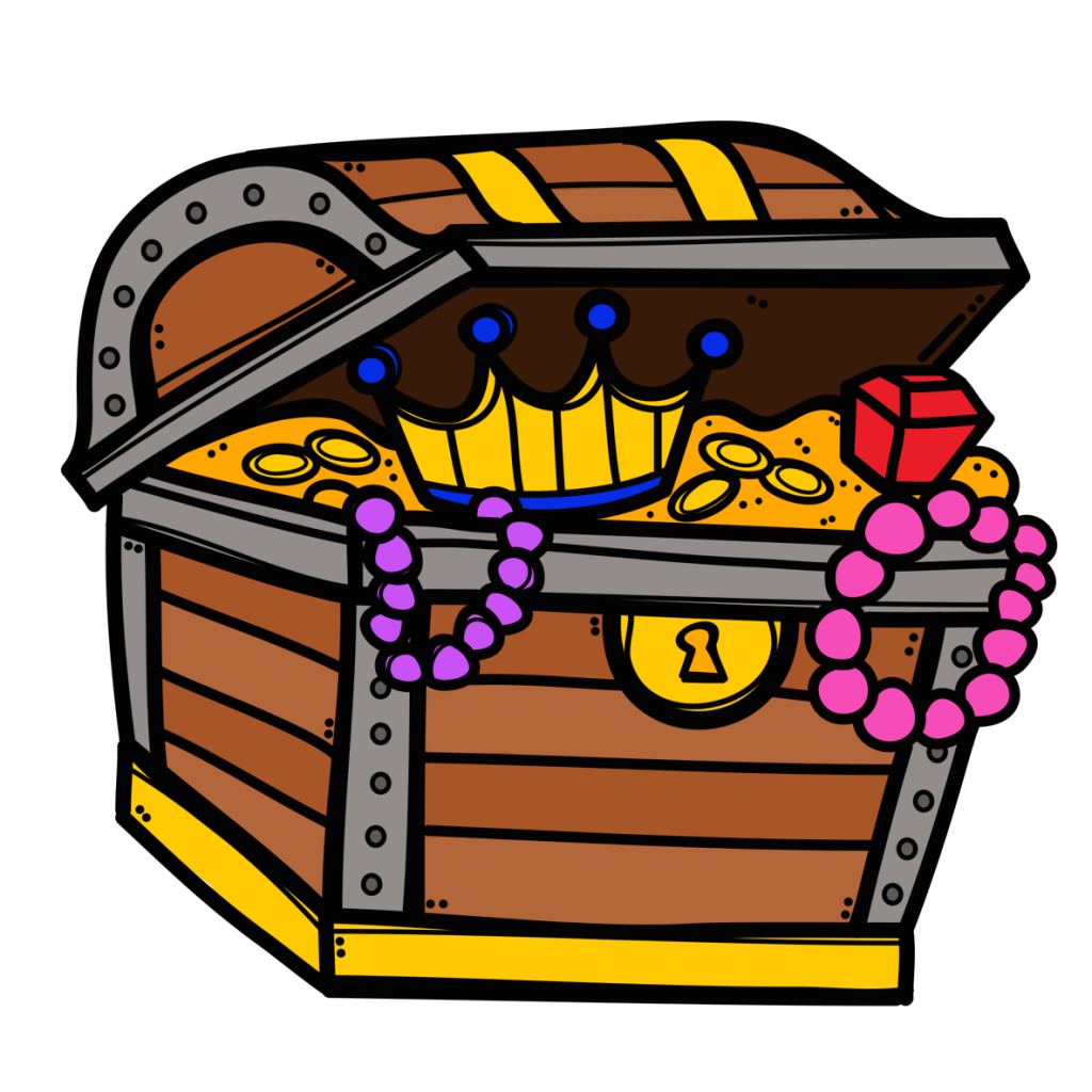 banner black and white library Winsome treasure open x. Chest clipart