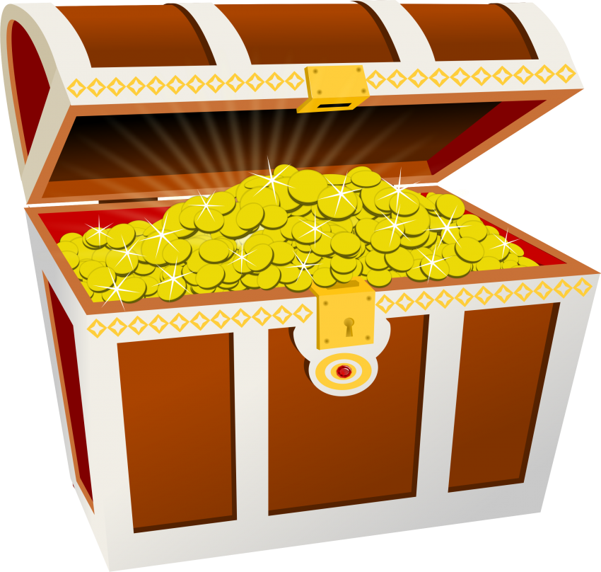 graphic freeuse stock Chest clipart. Transparent background free on.