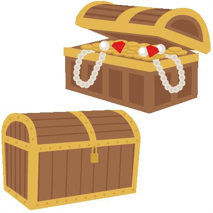 svg freeuse Chest svg scrapbook cut. Treasure clipart treasure box