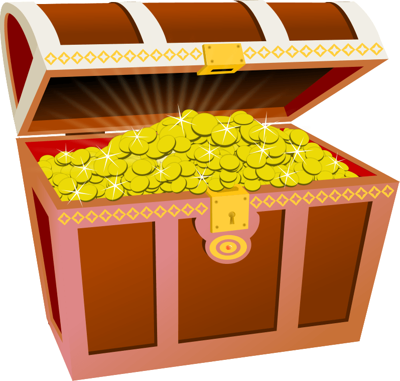 vector royalty free stock Chest clipart treasure hunt. Free cliparts download clip.