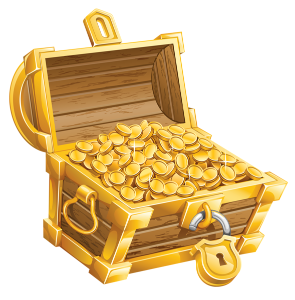 clipart free library Png picture pirate clip. Chest clipart treasure room.