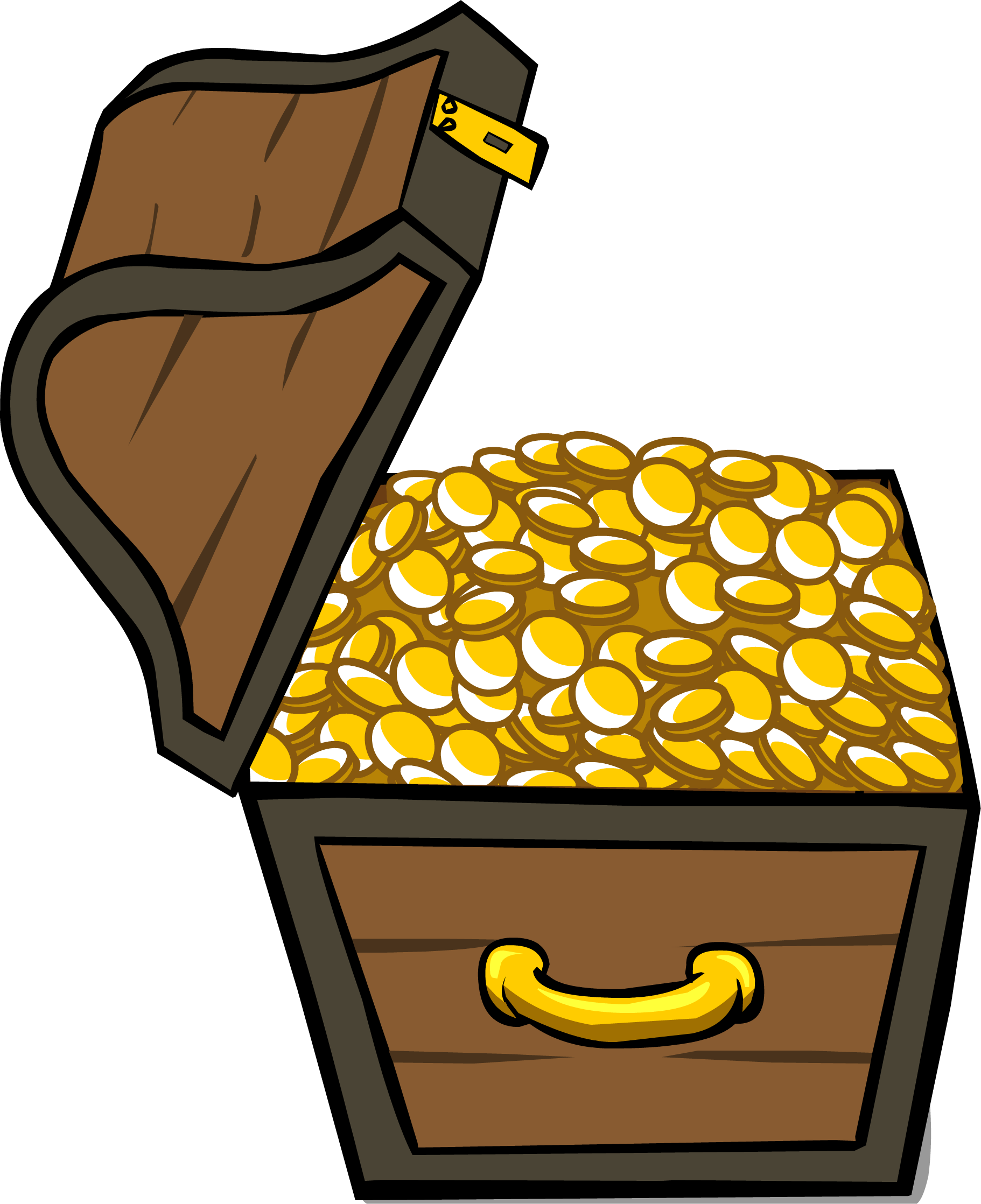jpg library Chest clipart treasure room. Image id sprite png.