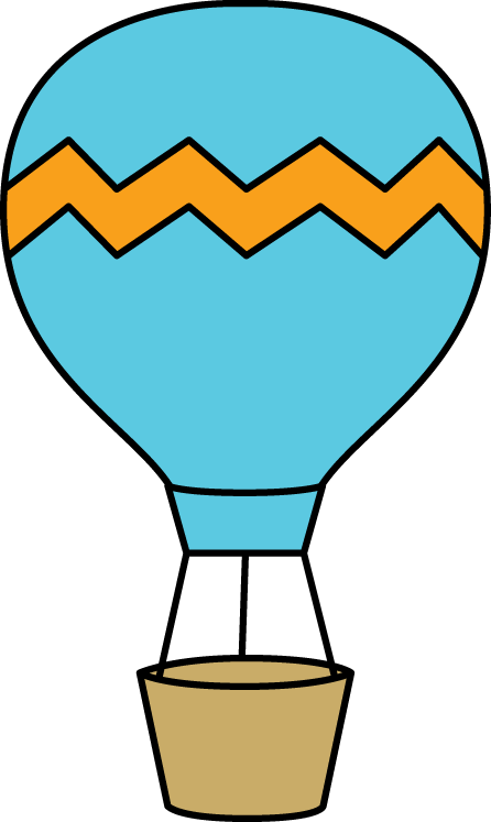 graphic library library Chevron clipart orange blue. Image hot air balloon.