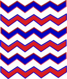 picture freeuse download Chevron clipart orange blue. Zig zag red and.
