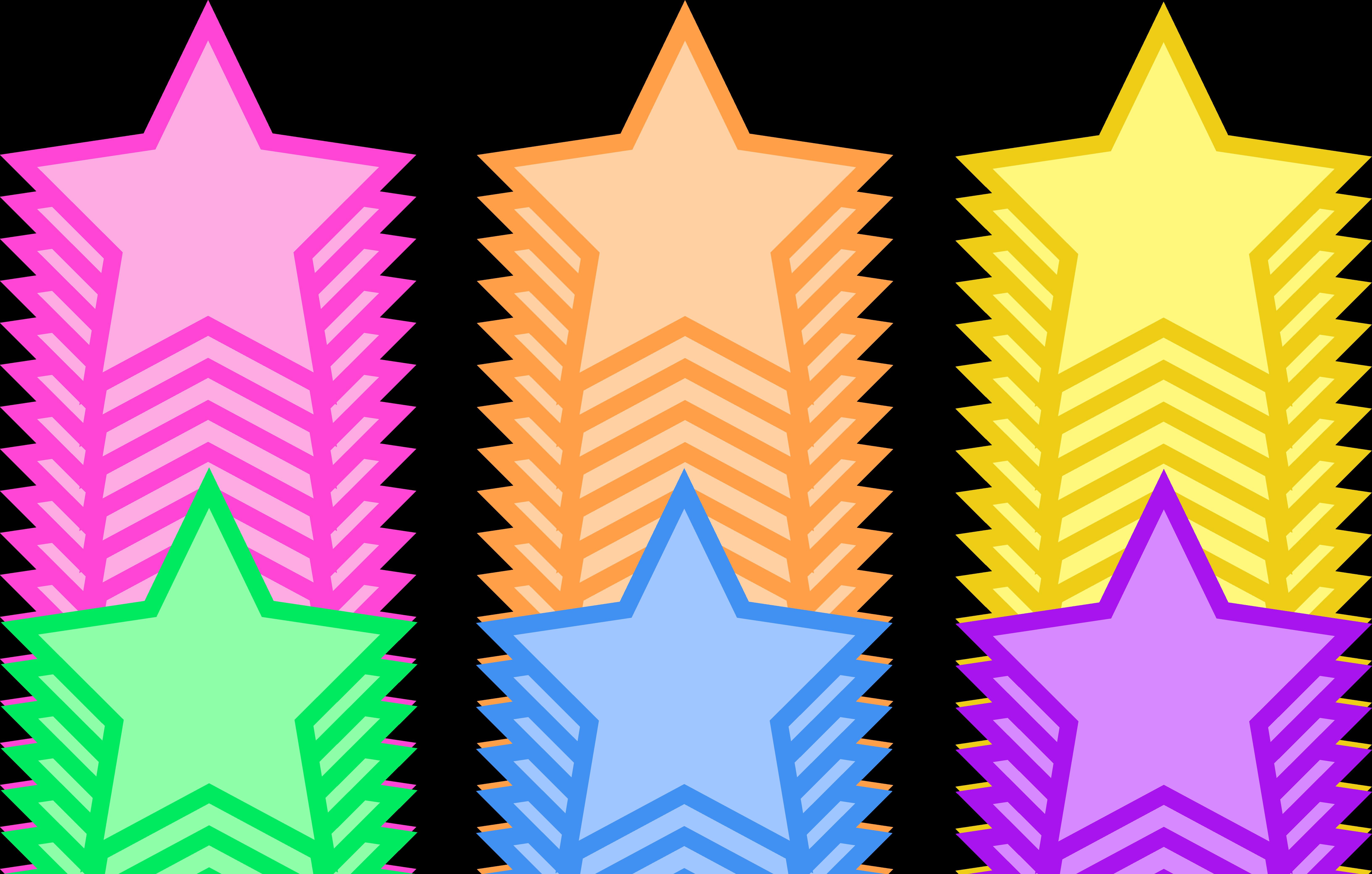 transparent stock Animated Star Clip Art