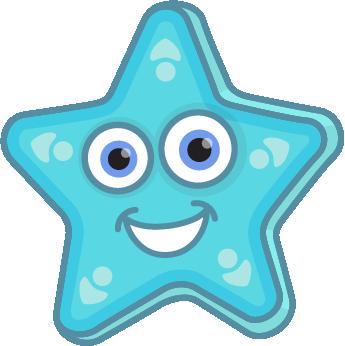 picture black and white download Blue starfish stunning cliparti. Chevron clipart star.