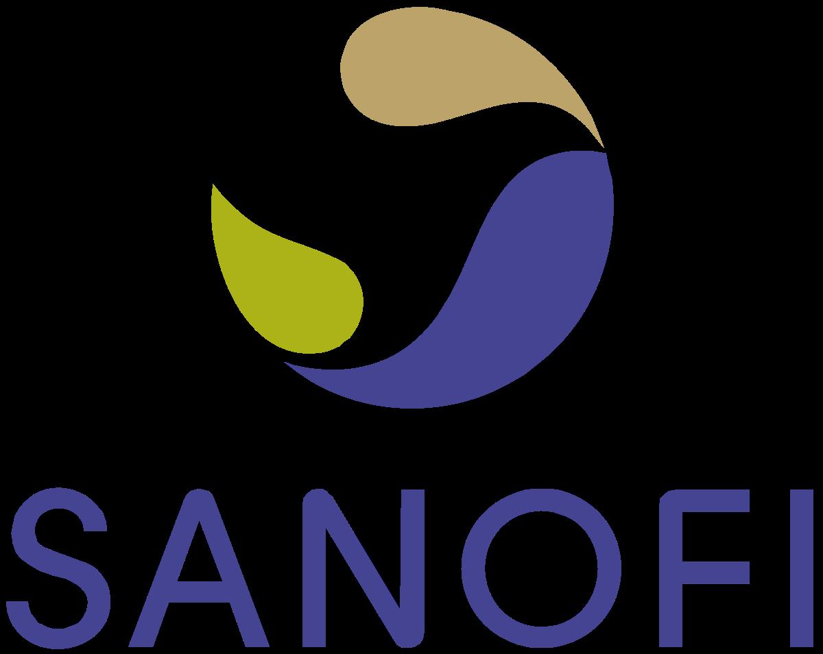 vector transparent download Sanofi