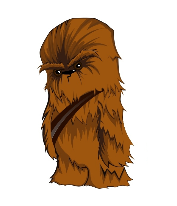 graphic royalty free library Free cliparts download clip. Chewbacca clipart.