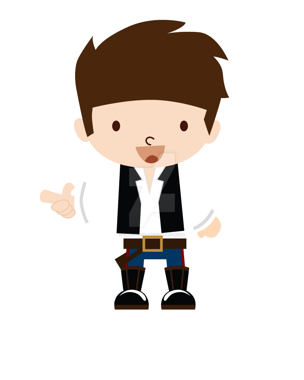 picture royalty free download Han solo by chrispix. Chewbacca clipart baby.