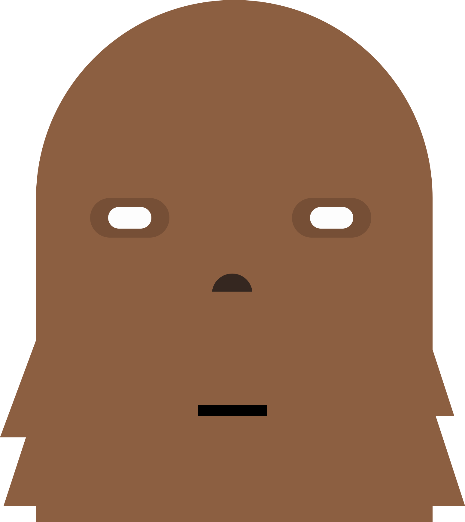 graphic freeuse stock Monster head big image. Chewbacca clipart cute.