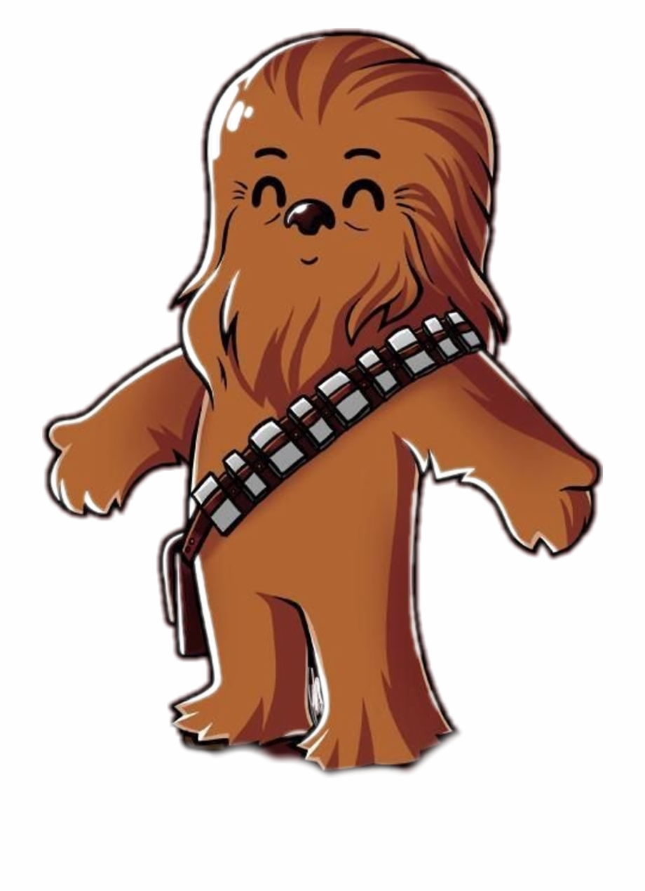 graphic transparent stock Chewbacca clipart cute. Transparent free for .