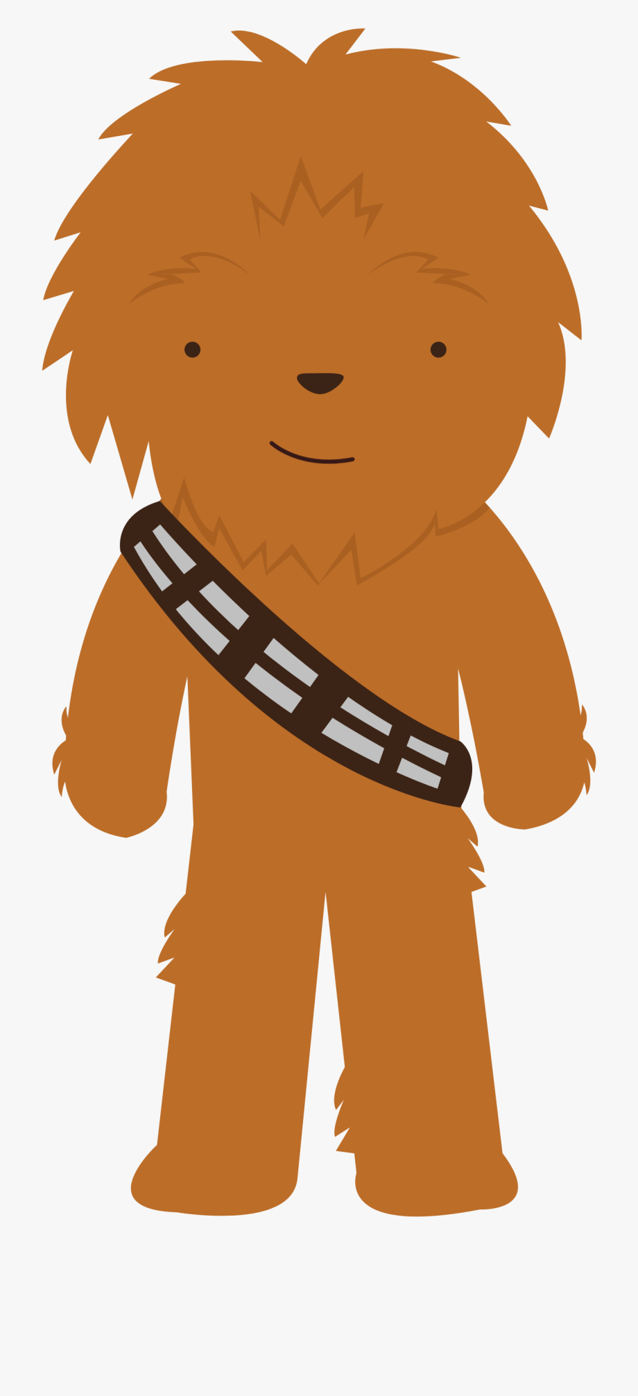 svg black and white download Star wars png transparent. Chewbacca clipart cute.