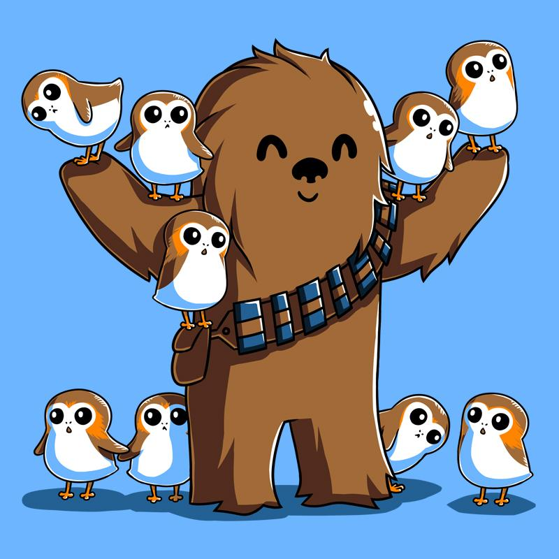 vector library stock Kawaii transparent free . Chewbacca clipart cute.
