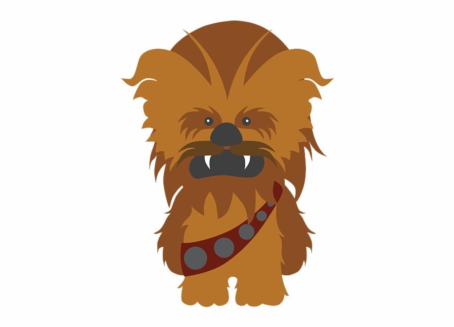 vector freeuse stock Chewbacca clipart cute. Star wars dibujo free.