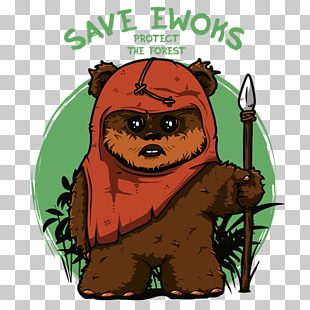png royalty free library  png cliparts for. Chewbacca clipart ewok