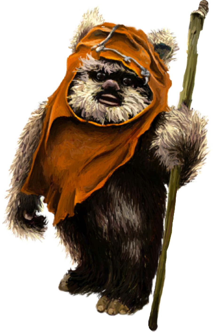 image royalty free download Freetoedit sticker by bianca. Chewbacca clipart ewok