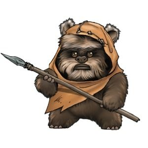 clipart transparent stock Transparent free for . Chewbacca clipart ewok