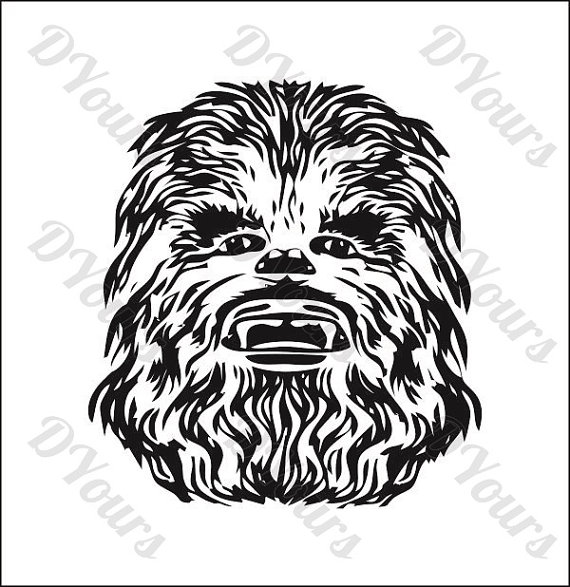image library download Chewbacca clipart vector. Star wars model svg.