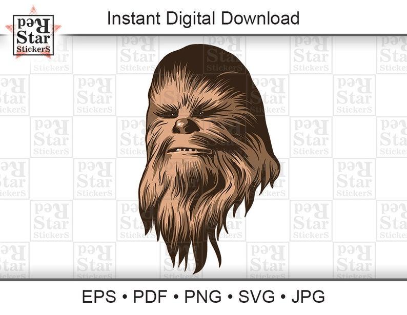 banner free stock Star wars illustration digital. Chewbacca clipart vector.